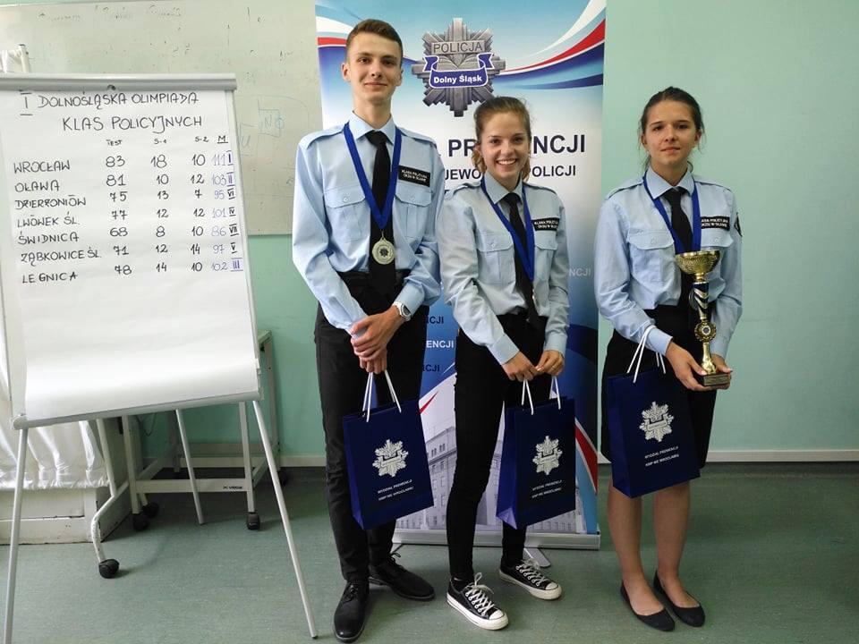 II miejsce na I Olimpiadzie Policyjnej