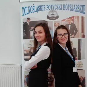 Hotelarki z naszej szkoły w etapie centralnym XI Olimpiady Wiedzy Hotelarskiej!