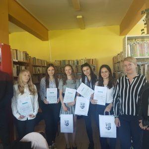 I miejsce w XVII Powiatowym Konkursie Wiedzy o Krajach Niemieckojęzycznych
